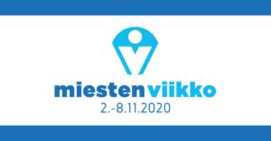 Kuvassa Miesten Viikko 2020 -logo