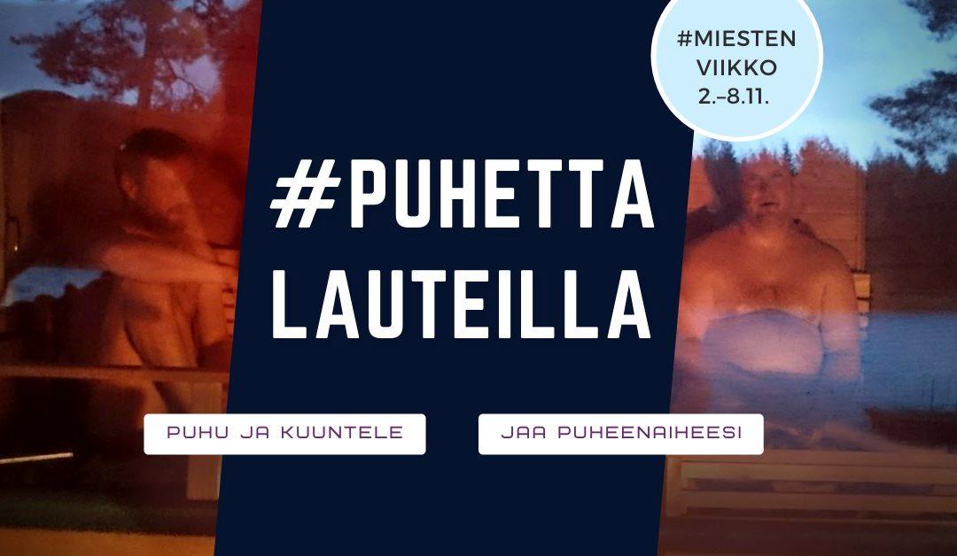 """Miesten viikon kampanja haastaa suomalaiset miehet lauteille puhumaan syvällisiä – """"Kyllä miehetkin puhuvat tunteistaan"""""""
