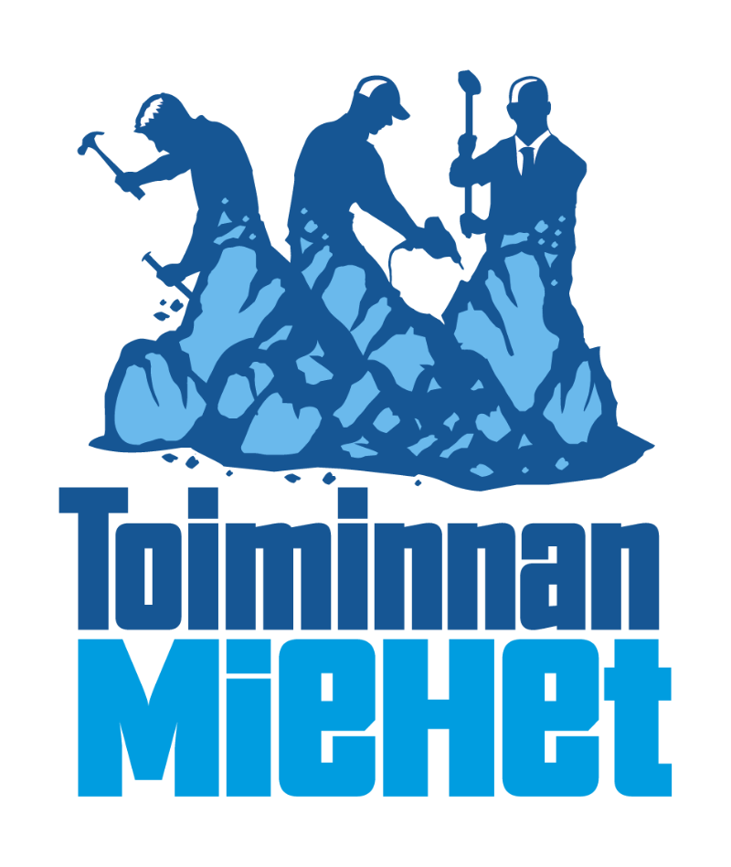 Kuvassa Toiminnan Miehet -logo