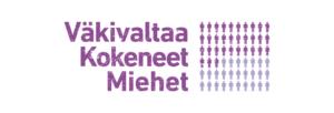 Kuvassa Väkivaltaa Kokeneet Miehet -logo
