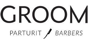Kuvassa Groom-logo.